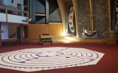 Labyrinth Walk – each Sunday by reservation