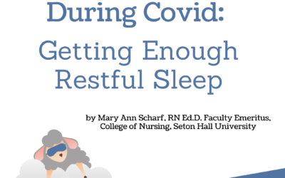 Staying Safe During Covid – Getting Enough Restful Sleep