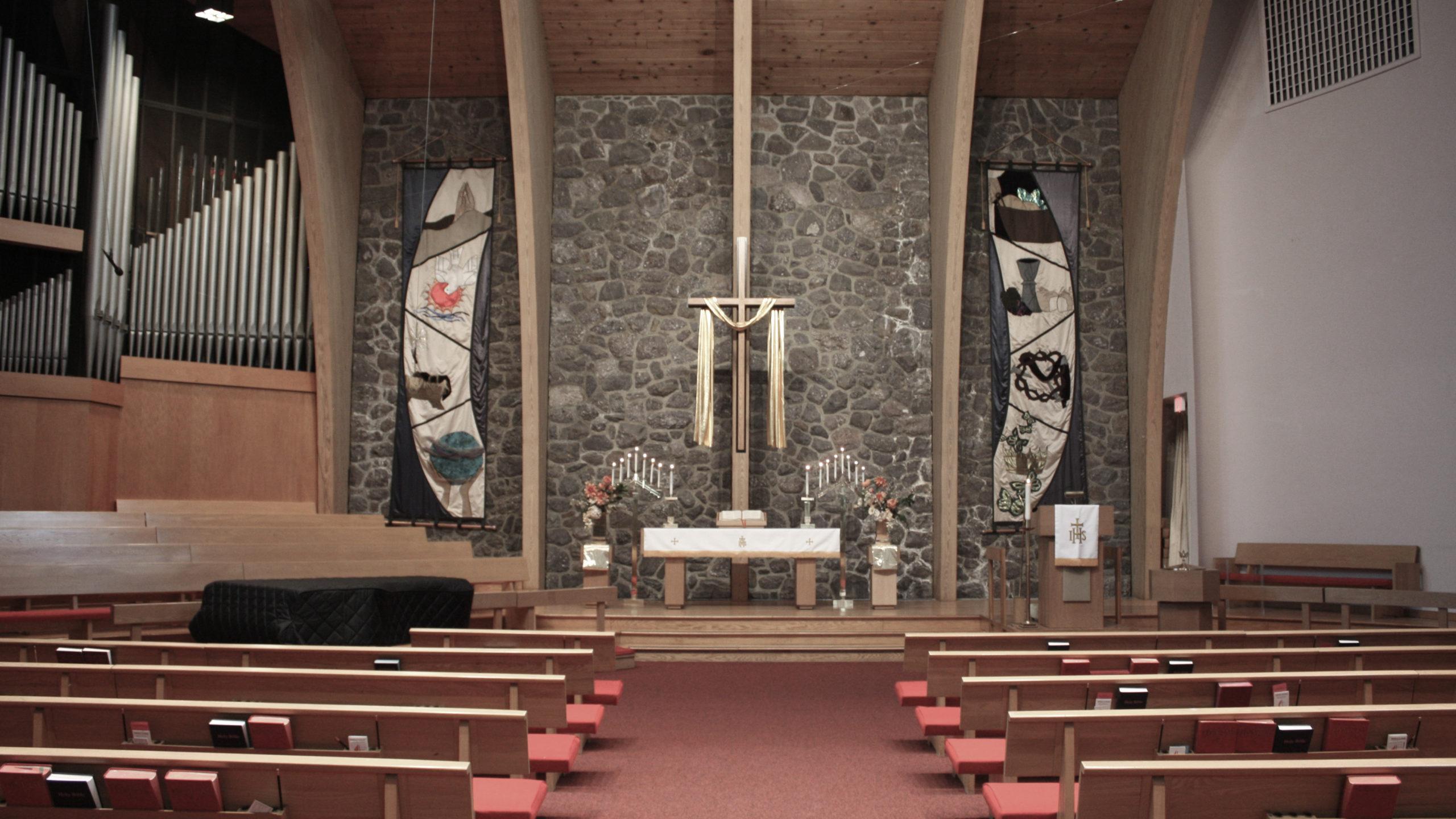 Morristown United Methodist Church Sanctuary