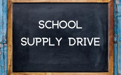School Supply Drive