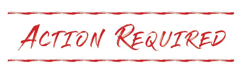 Next summer message series: Action Required